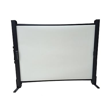 Inland ProHT Matte 40'' Diagonal Portable Projection Screen