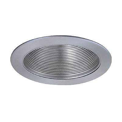ElcoLighting Stepped Baffle 5'' Recessed Trim; Nickel