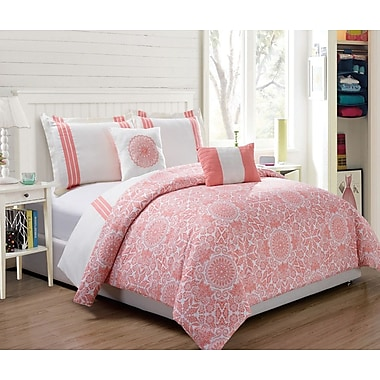 RT Designer's Collection Finley 5 Piece Comforter Set; King