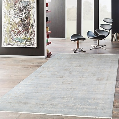 Pasargad Transitional Hand-Knotted Wool Area Rug; 10' x 14'