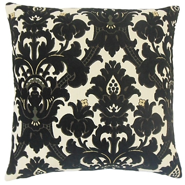 The Pillow Collection Beonica Damask Throw Pillow; 22'' x 22''