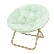 Urban Shop Micromink Papasan Chair; Mint