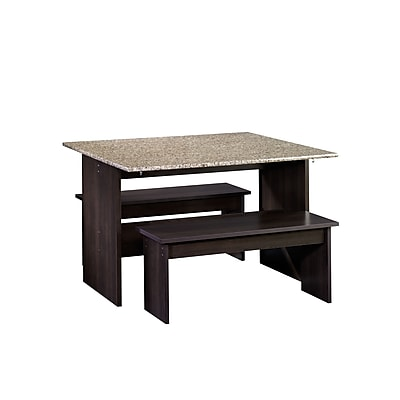 Sauder Beginnings Table With Benches (413854)