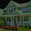 Red Green Snowflakes & Trees Instant Laser Projection Light Deals