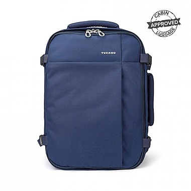 Tucano BKTUG-M-B, TuGo Travel Backpack Fits Laptops Up to 15.6