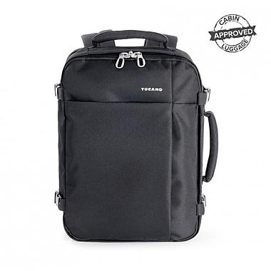 Tucano – Sac à dos de voyage TuGo, convient aux ordinateurs portatifs mesurant jusqu'à 15,6 po, noir (BKTUG-M-BK)