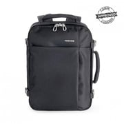 "Tucano BKTUG-M-BK, TuGo Travel Backpack Fits Laptops Up to 15.6"", Black"