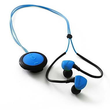 Boompods – Écouteurs-boutons sans fil Sportpods Race BP-SPRBLU, bleu