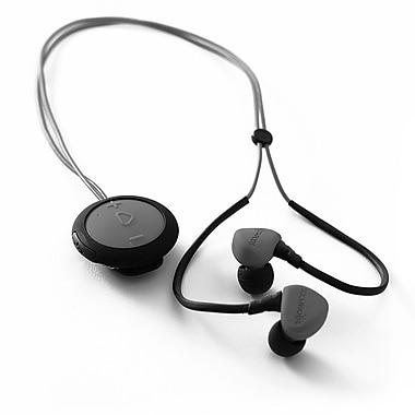 Boompods BP-SPRDRG, Sportpods Race Wireless In-Ear Headphones, Dark Grey