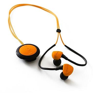 Boompods – Écouteurs-boutons sans fil Sportpods Race BP-SPRORA, orange