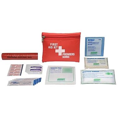 Safecross – Trousse de premiers soins personnelle Yukon, Sac-ceinturon, 6/paquet (51301B)