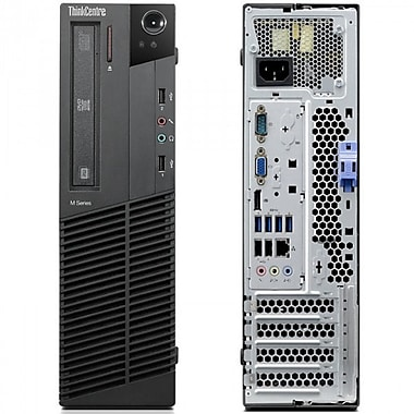 Lenovo M92p Refurbished SFF Desktop, 3.20 GHz Intel i5-3470, 4 GB DDR3, 500 GB HDD, Windows 10 Pro