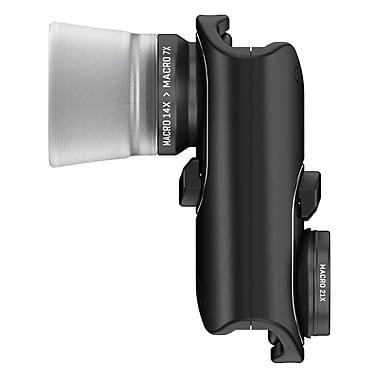 Olloclip – Objectif Macro Pro OC-0000214-EU pour iPhone 7/7 Plus, noir