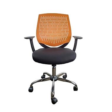 RetailPlus – Fauteuil de bureau Bari, orange