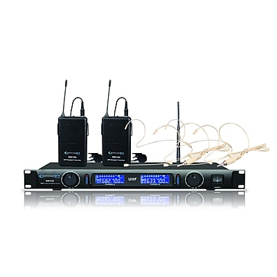 Technical Pro WM1352 Wireless Lapel and Headset Microphone System
