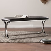 SEI Cady Reptile/Chrome Bench (BC2729)
