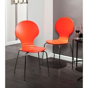 SEI Holly & Martin Conbie Chairs - Red - 2 Piece (BC8227)