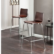 SEI Holly & Martin Blence Barstools - Espresso - 2 Piece Set (BC8415)