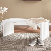 SEI Slat Bench/Table - White (BC9226)