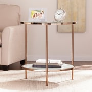 SEI Risa End Table - Gold (CK0432)