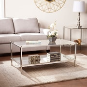 SEI Paschall Cocktail Table - Silver (CK4990)