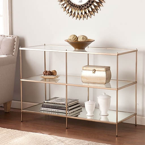 SEI Knox Console Table - Gold (CK5023)