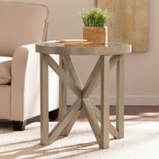 SEI Brentwick End Table- Gray (CK5042)