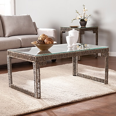 SEI Akola Woven Cocktail Table (CK5050)
