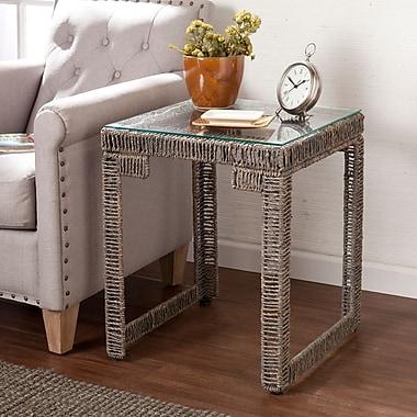 SEI Akola Woven End Table (CK5052)
