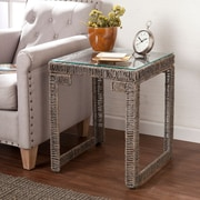 SEI Akola Woven End Table (CK5052)