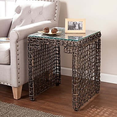 SEI Loni Woven End Table (CK5072)