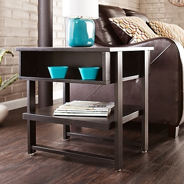 SEI Holly & Martin Cloke End Table - Black (CK7792)
