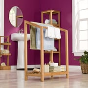 SEI Towel Rack - Light Brown (CR8907)