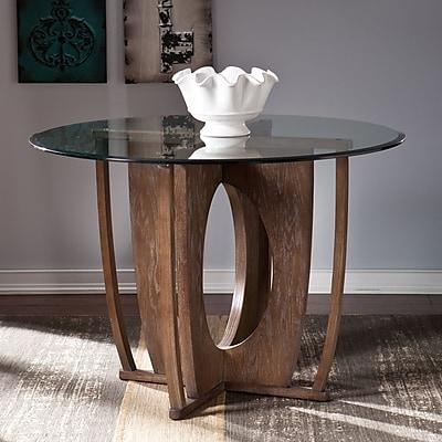 SEI Olivia Dining Table - Burnt Oak (DN0988)