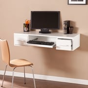 SEI Simon Wall Mount Desk - White (HO6102)