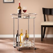 SEI Cressida Bar Cart - Chrome (HZ0317)