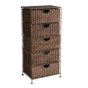 SEI Kelsey Seagrass 5-Drawer Storage (HZ0323)