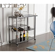 SEI Holly & Martin Zephs Bar Cart - Gray (HZ8810)