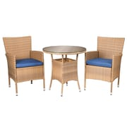 SEI Veda Outdoor Seating - Beige - 3 Piece Set (OD1263)