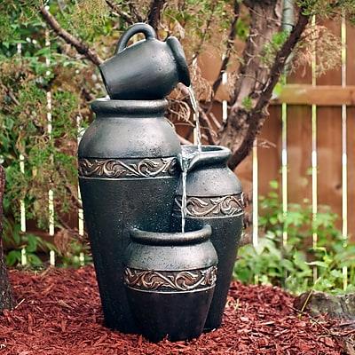 SEI Larga Outdoor Fountain - Dark Gray (OD9644)
