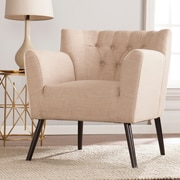 SEI Byers Tufted Chair - Beige (UP9681)