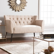 SEI Byers Tufted Loveseat - Beige (UP9682)