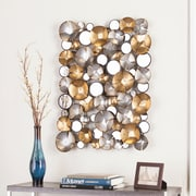 SEI Locarno Metal Wall Sculpture (WS8921)