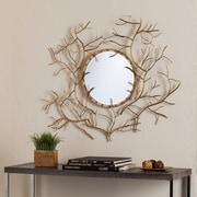 SEI Branch Round Mirror - Gold (WS8924)