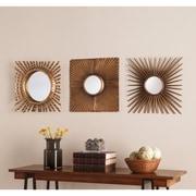 SEI Lorzy 3 Piece Decorative Mirror Set (WS8931)