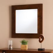 SEI Dawson Decorative Mirror - Oak Saddle (WS8935)