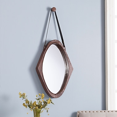 SEI Easton Oval Mirror - Oxidized Brown (WS8937)