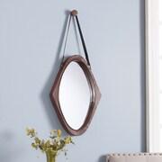 SEI Easton Oval Mirror - Oxidized Brown (WS8937)
