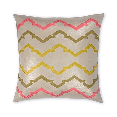 Piper Collection Jackie Linen Throw Pillow