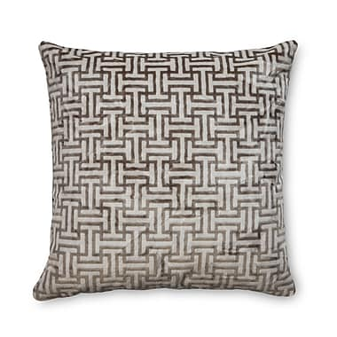 Piper Collection Buckle Velvet Throw Pillow